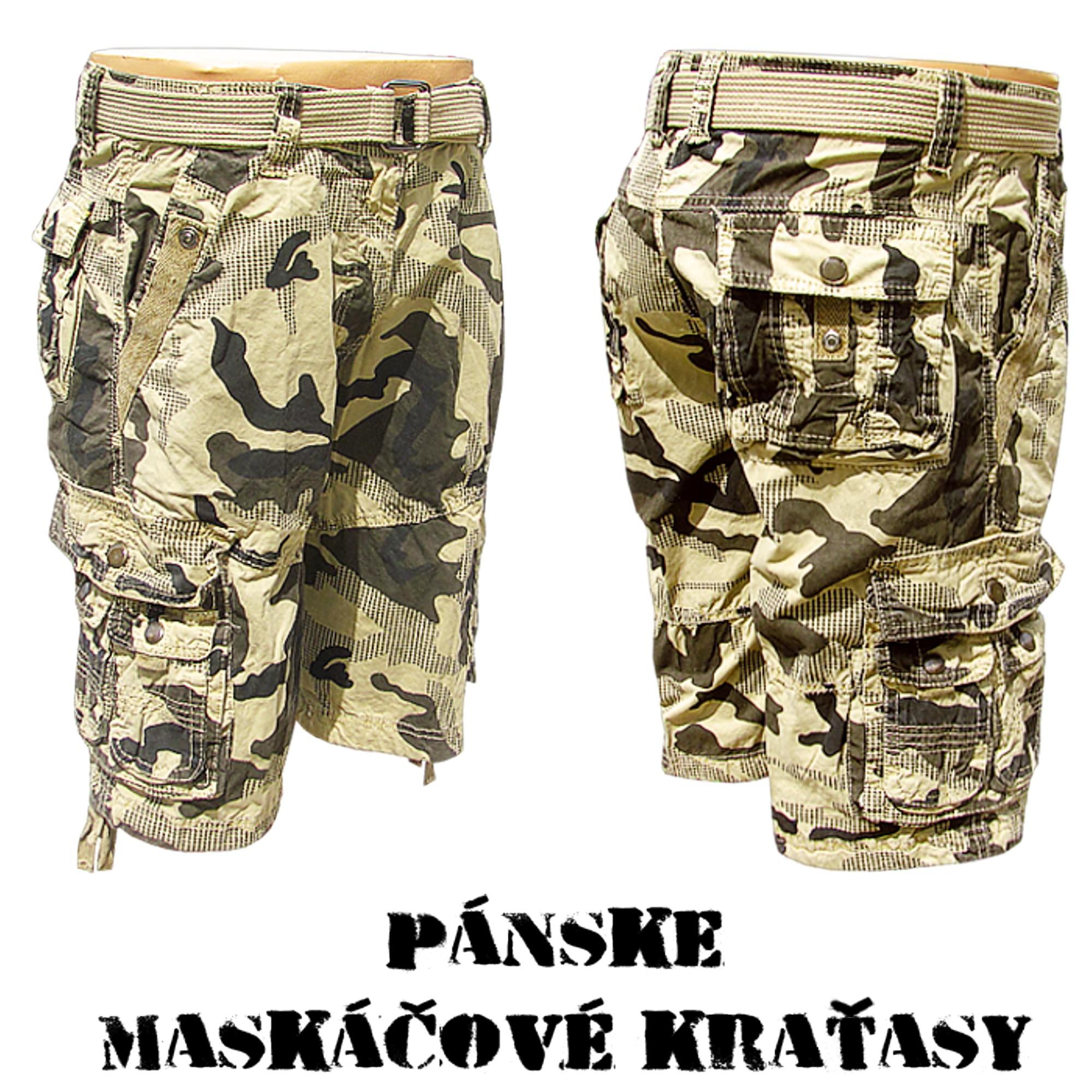 Pánske maskáčové kraťasy- online armyshop ... 02cc6da6a33