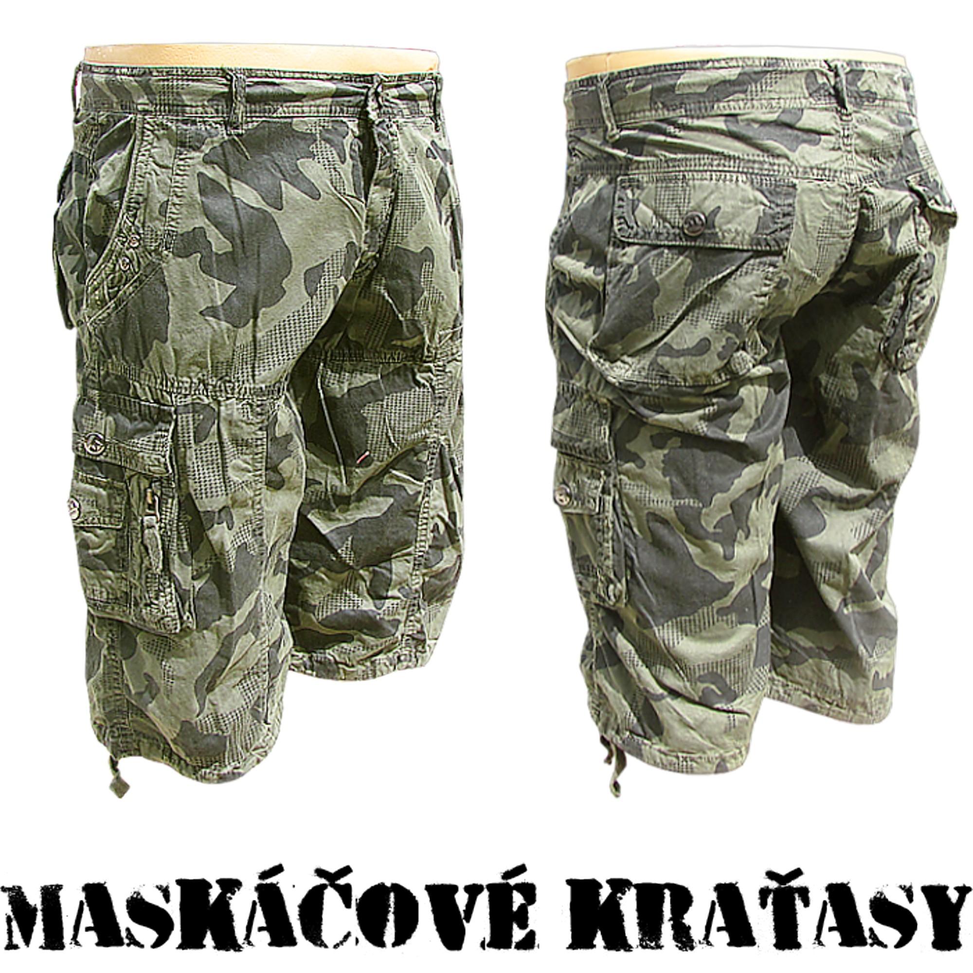 Pánske maskáčové kraťasy- online armyshop Kvalitné maskáčové kraťasy- super  cena online 5d7a1b8e0e6