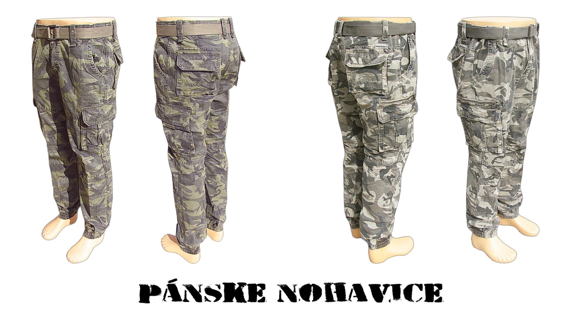 27bfe0ba9a58 Maskáčové nohavice pánske lacné a do 24.ooh z armyshopu Nitra