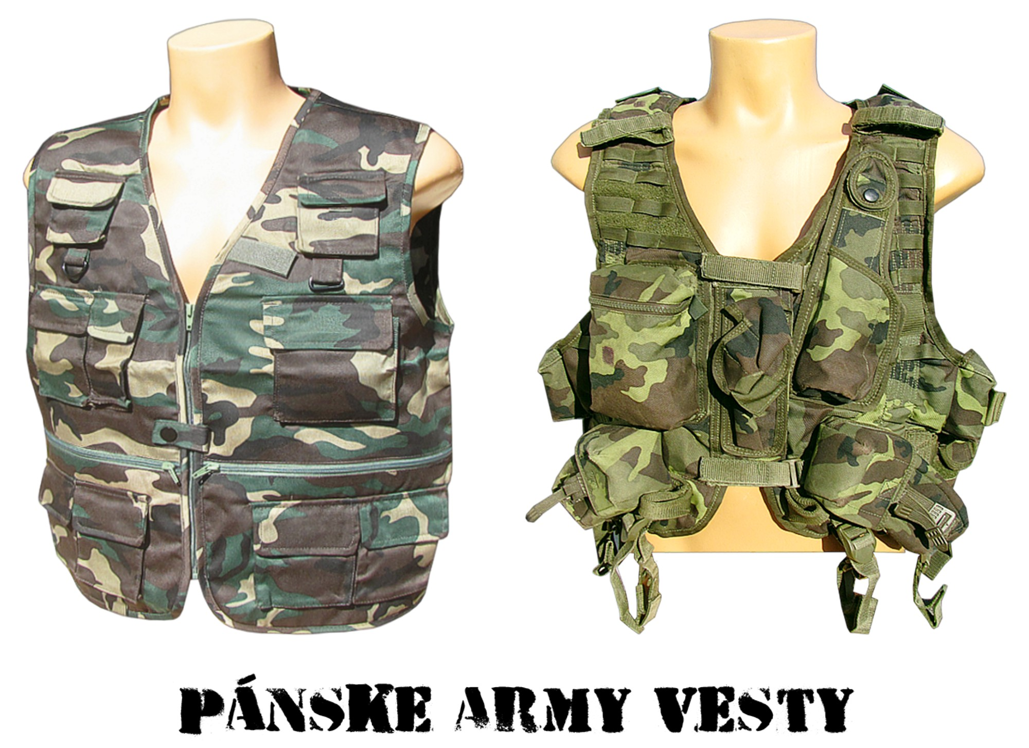 Kvalitné pánske vesty - veľkoobchod a armyshop Taktické army vesty -  armyshop a veľkoobchod online 374f3639aa4