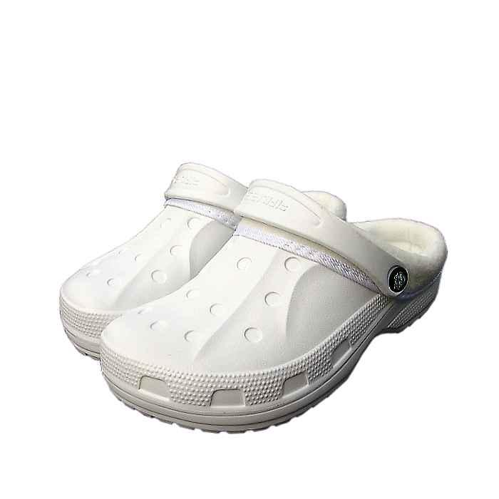 0ba196509af Šľapky KROXY KLASIK dámske zateplené biele - outdoor obuv Tifantex