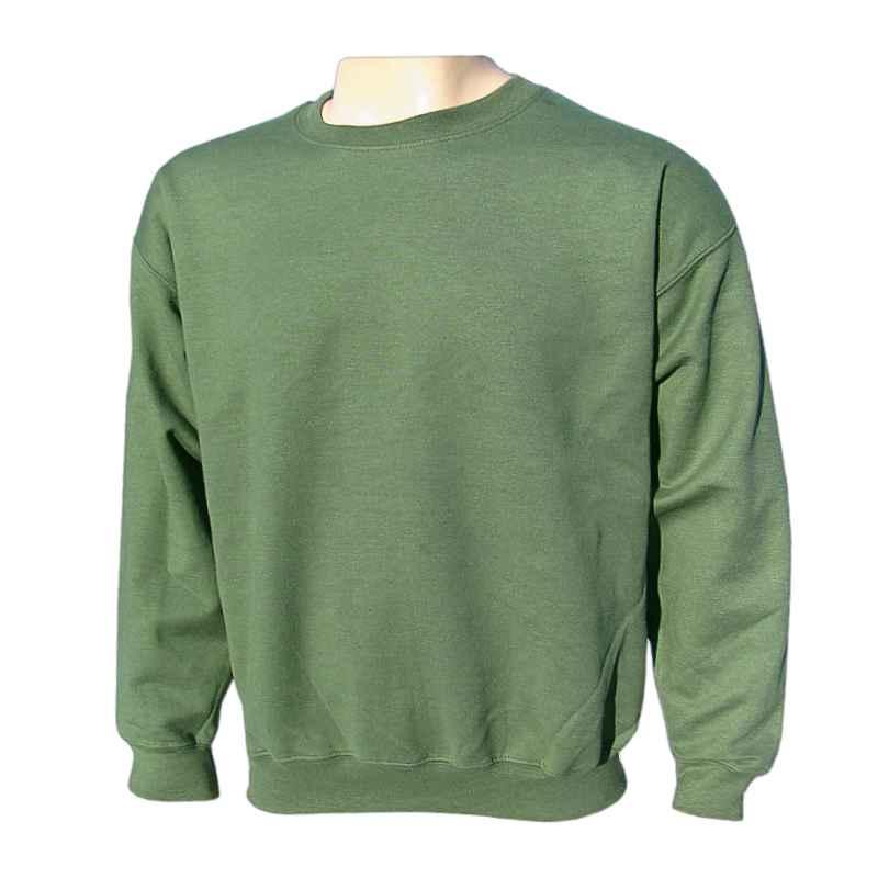 a863f9a48 Mikina pánska jednofarebná Gildan zelená army, eshop predaj