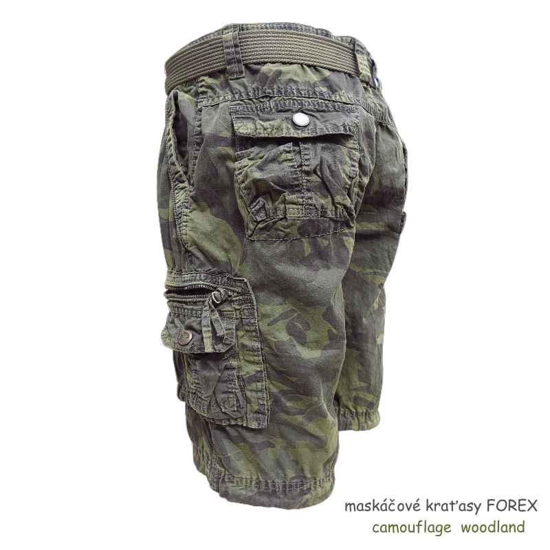 7df333248271 maskáčové kraťasy zn. FOREX woodland