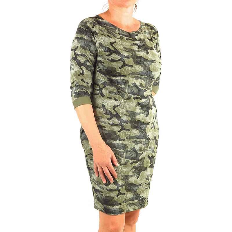 ca1ebf11aaeb maskáčové šaty dámske woodland