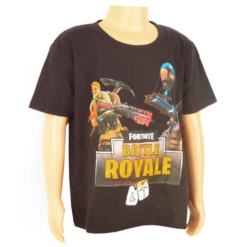 9ebe92255489 detské tričko čierne Fortnite Battle Royale