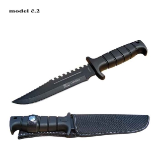 Nôž lovecký Columbia black saw