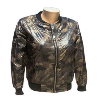 Bunda dámska Bomber woodland zn. SHK MODE