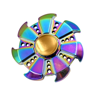 Fidget Spinner shop SPRINGLE Ružica dúhová 7 ramenná