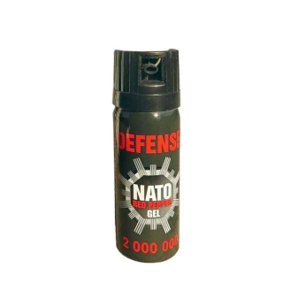 Gelový kaser DEFENSE NATO red pepper 50 ml