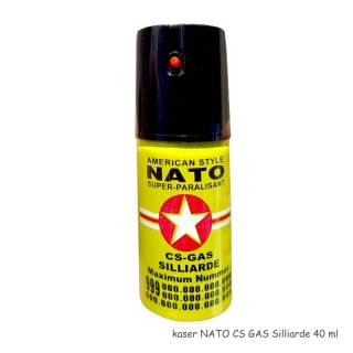kaser NATO CS GAS Silliarde žltý 40 ml
