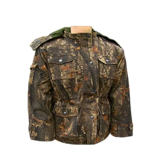 Bunda LOSHAN Realtree brown 3/4 zateplená